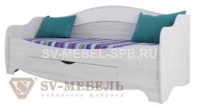 Акварель 1 Кровать одинарная