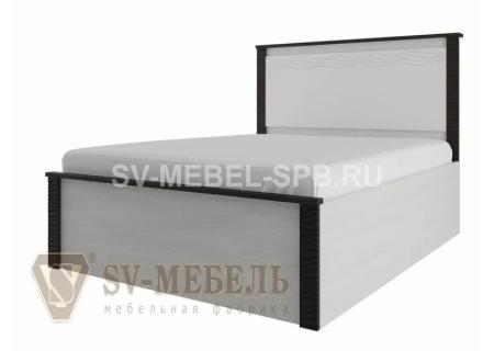 """Кровать одинарная 0,9*2,0 """"Гамма-20"""" Венге"""