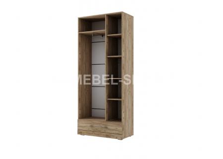 """Шкаф двухстворчатый комбинированный (420) """"Ницца"""""""